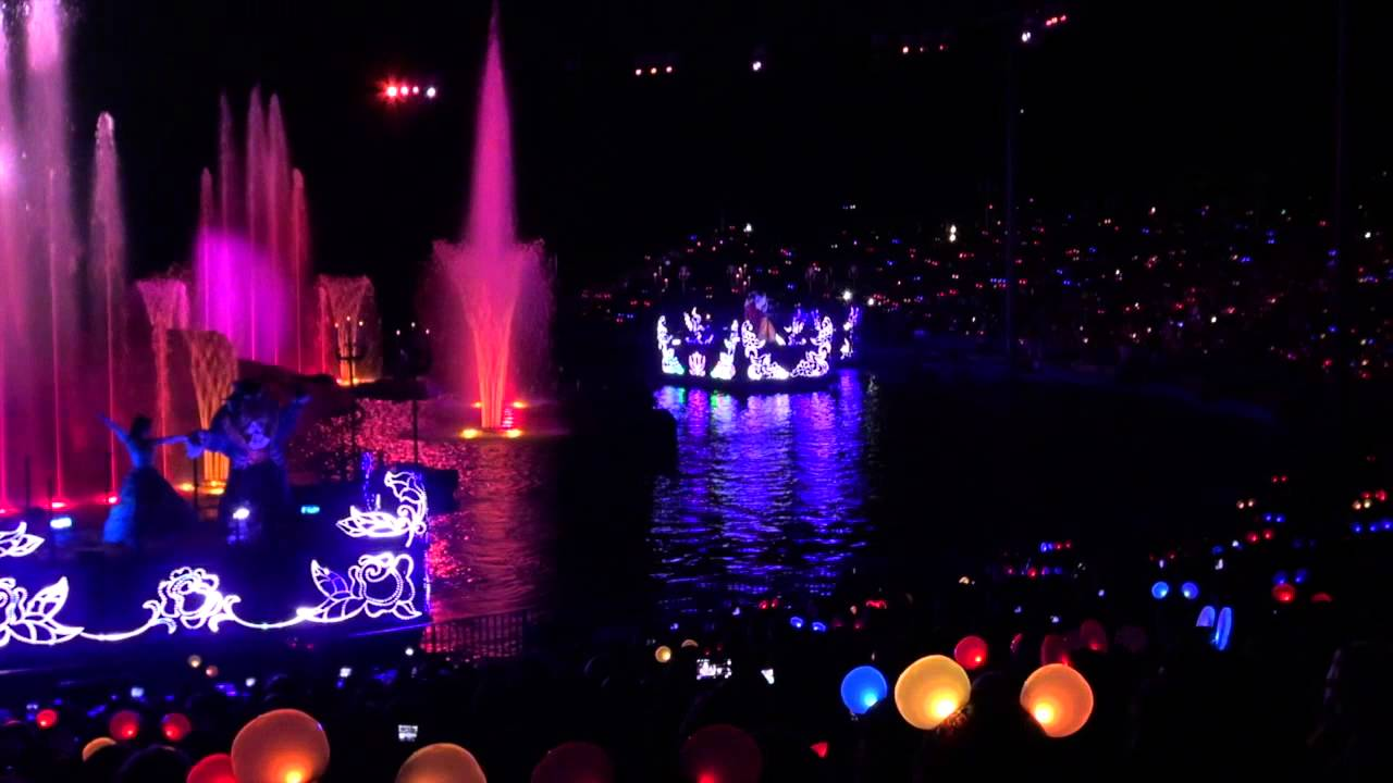 Fantasmic! Glow with the Show Ear Hats opening night