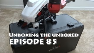 Walkera Voyager 3 unboxing the unboxed review