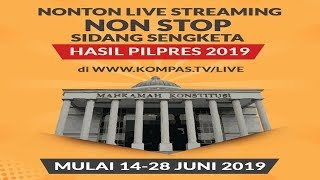 Video [LIVE] BREAKINGNEWS - Sidang Lanjutan Sengketa Pilpres 2019 MP3, 3GP, MP4, WEBM, AVI, FLV Juli 2019