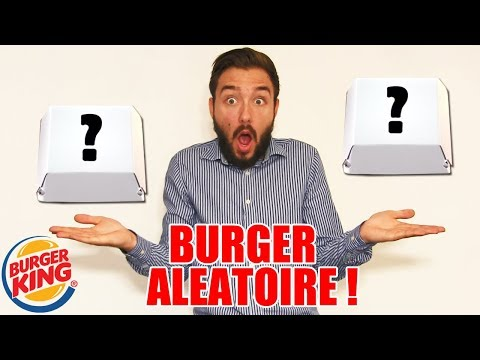 Video CHALLENGE BURGERS SURPRISES chez BURGER KING à 2 EUROS !! download in MP3, 3GP, MP4, WEBM, AVI, FLV January 2017