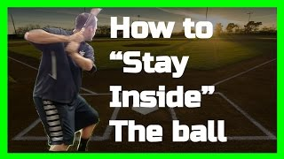 MLB Hitting Instruction | How to stay inside the ball