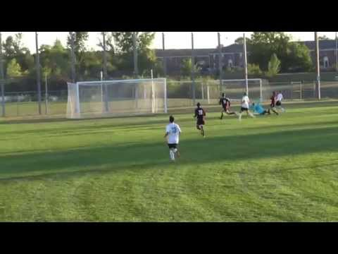 Rodriguez to Laird Goal - LN Soccer 9-15-15