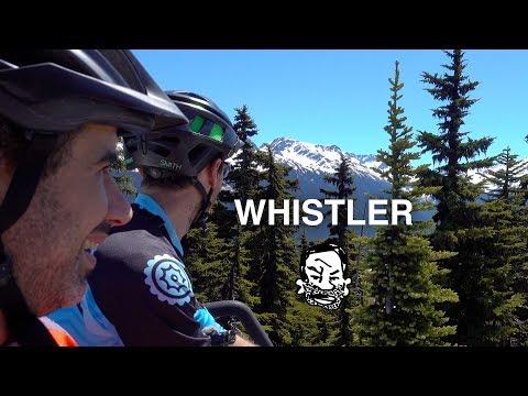 My first downhill MTB run, at Whistler! - RWS EP17 (видео)
