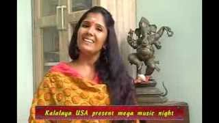 Anuradha Sriram Promo For Lakshman Sruthi Light Music Show In Bay Area
