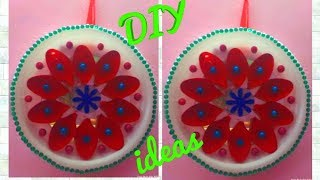 This video is about: spoon flower wall hanging, plastic spoon wall hanging, wall hanging with spoon, how to make plastic spoon...
