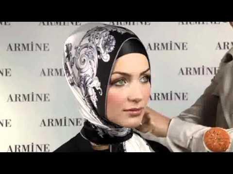 Hijab Fashion: Armine Eşarp Bağlama Modelleri # 9