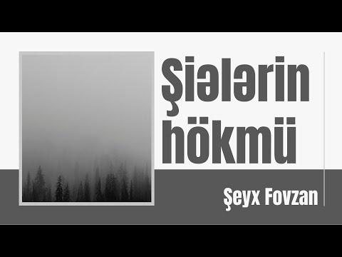 Şeyx Fovzan - Şiələrin hökmü
