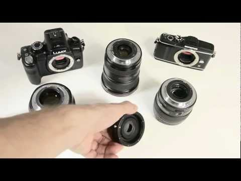 Bower Canon Eos to micro four thirds m43 adapter with aperture control review
