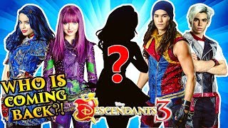 🍎 DESCENDANTS 3 CAST First 10 Characters CONFIRMED! 👌 ft Mal, Evie, Jay, Carlos, Ben & More! 🔥
