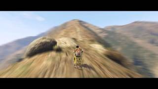 ShoppingTrolley Timelapse  - In a Shopping Trolley up Mount Chiliad [GTA5]