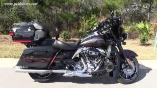 6. RARE Used 2010 Harley Davidson FLHTCUSE CVO Ultra