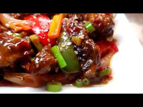বাংলাদেশী চাইনিজ বিফ সিজলিং রেসিপি Beef sizzling recipe Bangladeshi Chinese Beef Sizzling