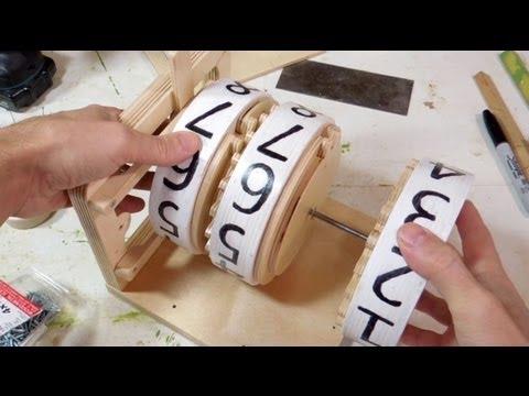 Matthias Wandel builds a wooden mechanical counter [19:01]
