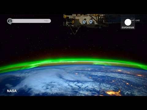 NASA footage: Stunning time lapse of Aurora Borealis from ISS