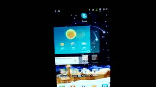 Snowfall live wallpaper YouTube video