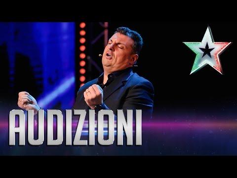 italia's got talent 2015: esibizione imitatore claudio lauretta