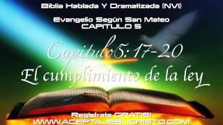 SAN MATEO - Capitulo 5 (BIBLIA HABLADA Y DRAMATIZADA) NVI