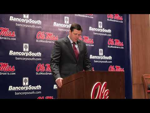 Ole Miss AD Keith Carter 12-2-19