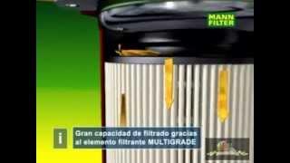 FilterSavvy - Mann Filter - Filtros de Combustible.wmv