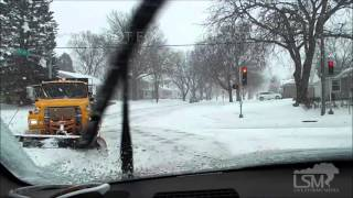 Oelwein (IA) United States  City pictures : 12-28-15 Oelwein Iowa Winter Storm