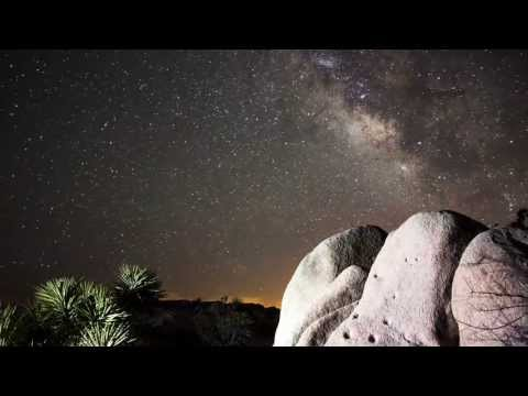 Beautiful Night Sky Time Lapse