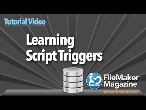 FileMaker Tutorial - Learning Script Triggers
