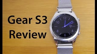 Gear s3 Classic Edition Review (Plus watch bands)