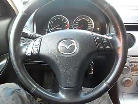 Как снять руль на мазде 6 2009 года фото