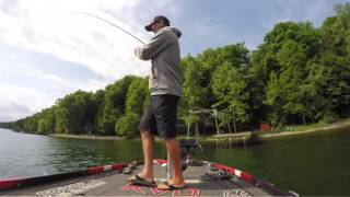 KVD's day 1 and 2 highlights - Cayuga lake 2016
