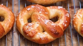 Homemade Soft Pretzels (Easy Recipe: No-Knead, No Machine) -  Gemma's Bigger Bolder Baking Ep 87