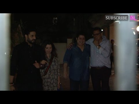 Abhishek Bachchan at Boman Irani's Birthday Party