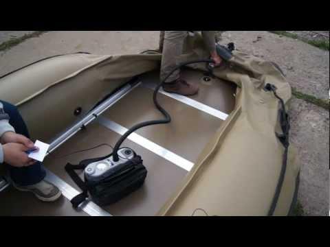 видео электрических насосов для лодок