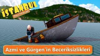 İstanbul Muhafızları - Komik Sahneler - Azmi ve Gürgen'in Beceriksizlikleri