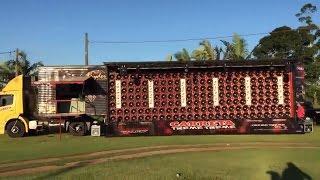 Audio ciężarówka Carreta Treme Treme pokazuje swoją moc!