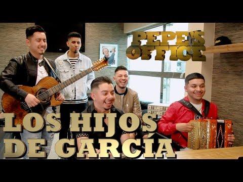 LOS HIJOS DE GARCÍA VISITAN A PEPE GARZA - Pepe's Office - Thumbnail