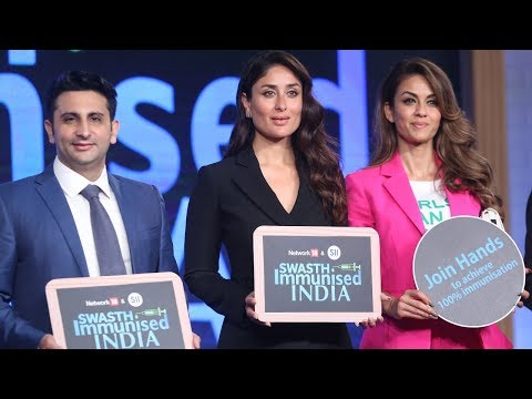 Uncut : Kareena Kapoor at Launch of Swasth Immunised India