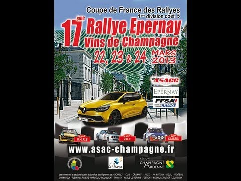 Rallye des vins de Champagne 2013 (EPERNAY) — ES 7: REUIL – VENTEUIL // [HD]