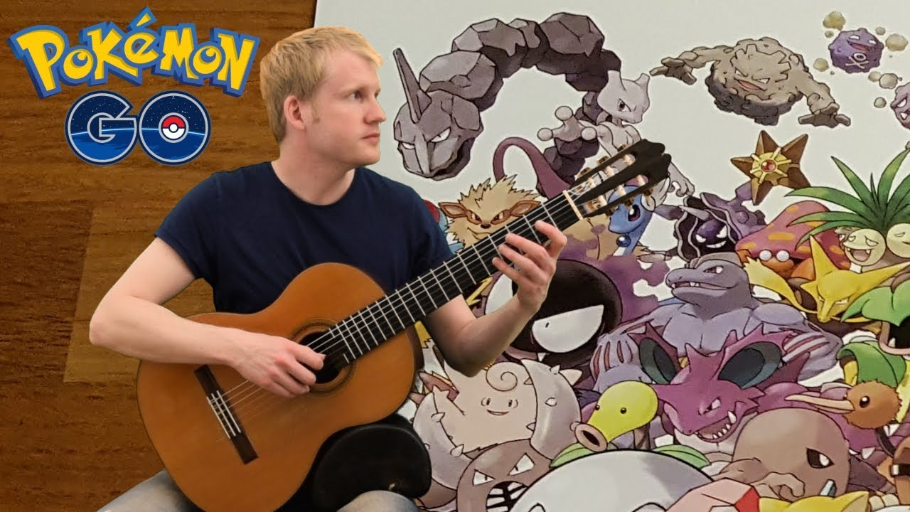 Pokémon Go – Map Theme (Acoustic Classical Guitar Fingerstyle Cover)