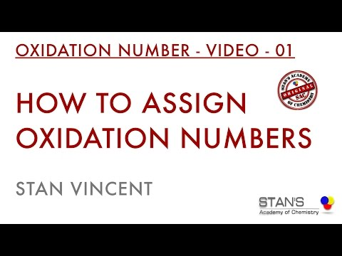 oxidation - Oxidation Numbers: This video is a prerequisite for balancing of equation using Oxidation number method and Ion electron method. Before balancing equations m...