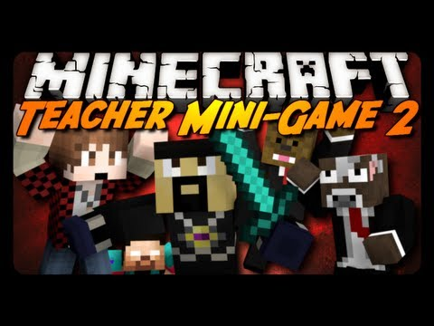 Minecraft Mini-Game: ANTVENOM IS A MEAN TEACHER! w/ AntVenom & Friends!