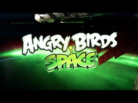 Image of Angry Birds Space Annoncement by NASA (Teaser Video)