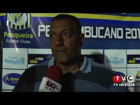Entrevistas pós jogo: Luciano Veloso e Lima