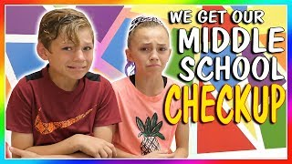 😱TIME FOR MIDDLE SCHOOL SHOTS!😱 | We Are The Davises