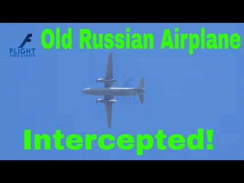 OLD Soviet transport airplane Antonov...