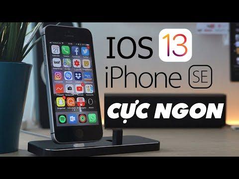 THỬ Cài iOS 13 Lên iPhone SE Và CÁI KẾT TUYỆT VỜI | Truesmart