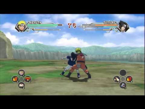 narutimate shippuuden accel 2 ts naruto vs ts sasuke request by