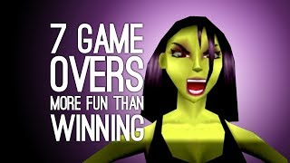 Video 7 Times a Game Over was More Fun than Winning (Does This Make Us Bad People?) MP3, 3GP, MP4, WEBM, AVI, FLV Maret 2018