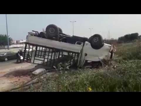 حادثة سير مروعة بين البيضاء والرباط