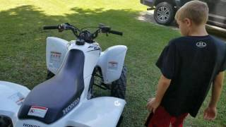 8. Honda trx250x review