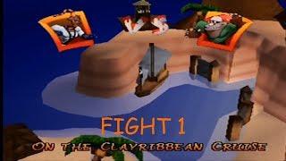ClayFighter: Sculptor's Cut - Fight 1 - Earthworm Jim vs Boogerman